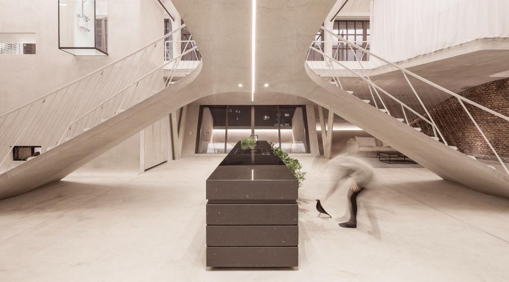 Kosten Neue Treppe loft panzerhalle